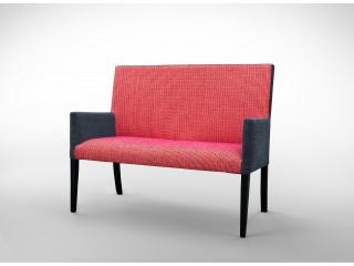 ŁAWKA czarno-czerwona L0005