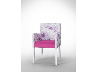 Fotel w kwiaty F0037