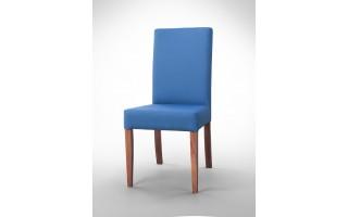 Krzesło proste niebieskie K0009