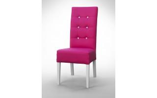 Krzesło pikowane diamentami K0011