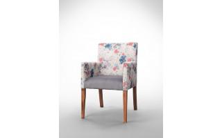 Fotel w kwiaty F0007