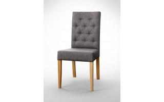 Krzesło z pikowanym oparciem K0017