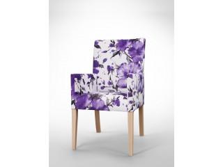 Fotel w kwiaty F0017