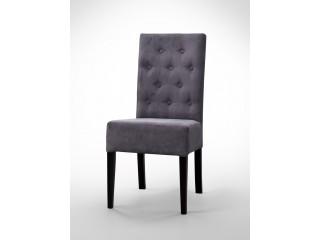 Krzesło pikowane guzikami K0028