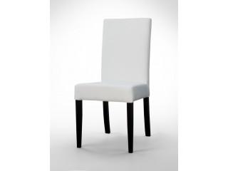 Krzesło białe proste K0030